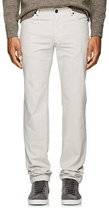 Marco Pescarolo MEN'S WASHED COTTON TWILL PANTS