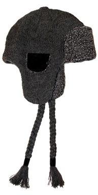 Muk Luks Men's Fairisle Knit Trapper Hat