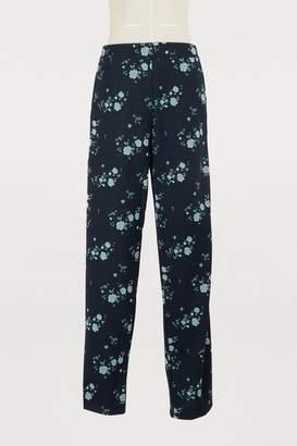 Kenzo Flowers printed pants