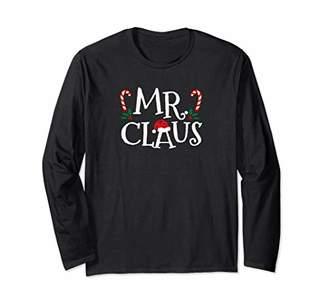 I'm Mr Claus Duh Christmas Shirt Matching Family Long Sleeve