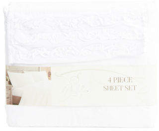 4pc Ruffle Sheet Set