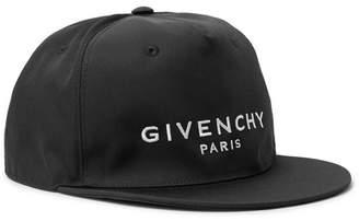 Givenchy Logo-Embroidered Canvas Baseball Cap - Black