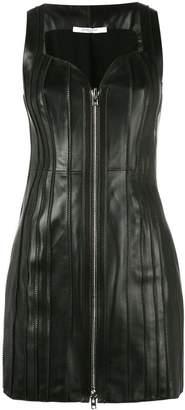 Givenchy sleeveless zipped mini dress