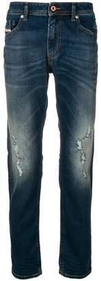 Diesel ripped slim-fit jeans