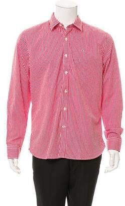 Victorinox Gingham Button-Up Shirt