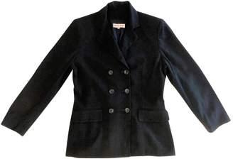 Gerard Darel Navy Wool Jacket for Women