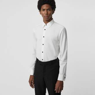 Burberry Classic Fit Cotton Poplin Dress Shirt