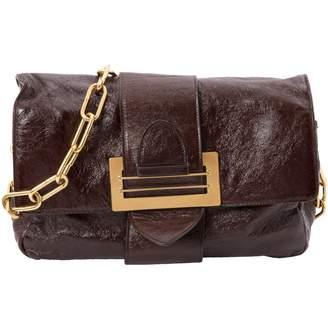Chloé Burgundy Patent leather Handbag