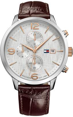 Tommy Hilfiger Watch With Leather Strap