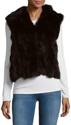 Adrienne Landau Women's Lamb Fur Vest