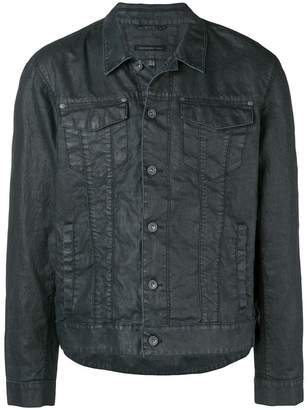 John Varvatos buttoned shirt jacket