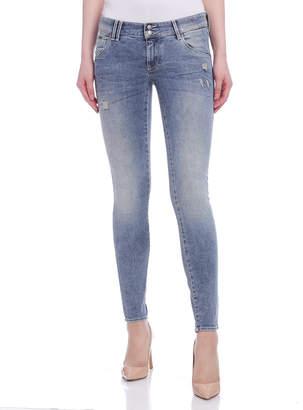 Gas Jeans (ガス) - GAS SHEYLA ウォッシュ デニム ライトブルー 23