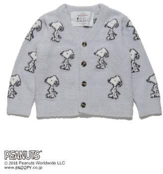 Gelato Pique (ジェラート ピケ) - gelato pique Kids&Baby 【KIDS】【PEANUTS】ジャガード kids カーディガン