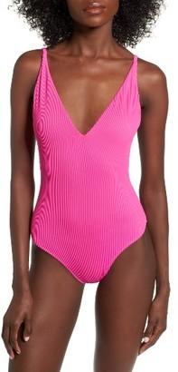 Women's Topshop Pamela One-Piece Swimsuit $45 thestylecure.com