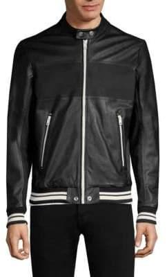 Diesel Bisbee Leather Jacket