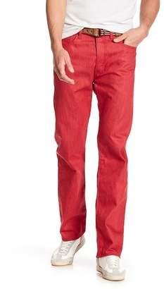 "Levi's 501 Original Fit Red Dahl Jeans - 30-32\"" Inseam"