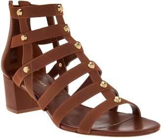 Marc Fisher Gladiator Block Heel Sandals - Julee