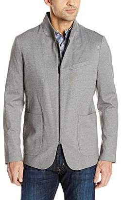 Kenneth Cole New York Men's Zip Front Knit Blazer