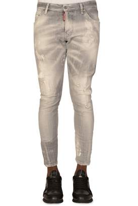 DSQUARED2 Dsquared Sexy Twist Grey Jeans