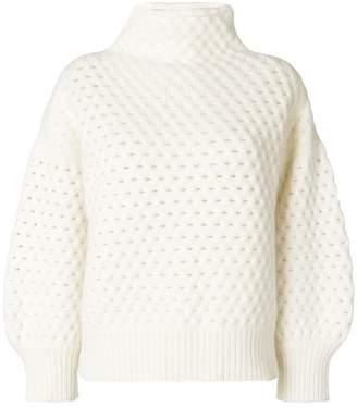 Zanone oversized roll neck jumper