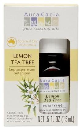 Aura Cacia Lemon Tea Tree