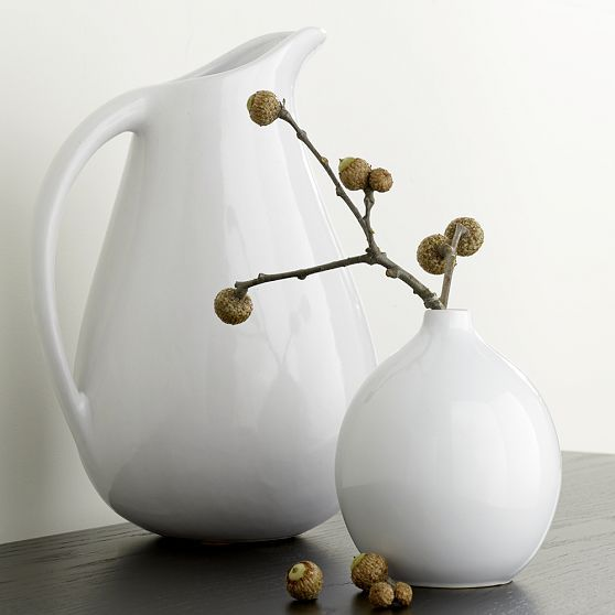 Pure Ceramic Vases, Classic