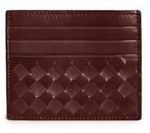 Bottega VenetaBottega Veneta Woven Flat Card Case