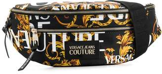 Versace brocade print belt bag