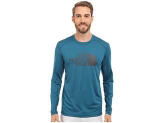 The North Face Long Sleeve Sink or Swim Rashguard (Blue Coral/Asphalt Grey