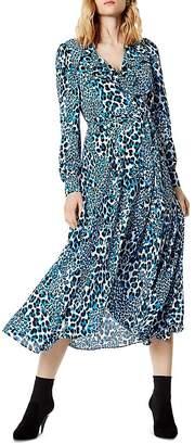 Karen Millen Leopard Print Wrap Dress
