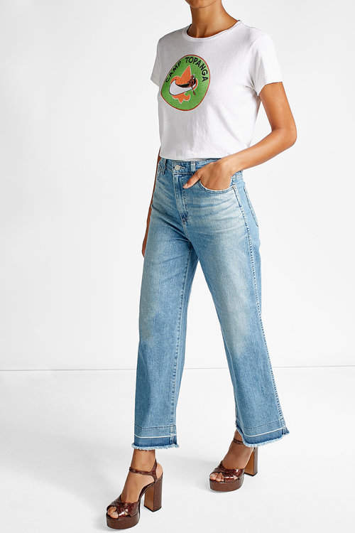 Adriano GoldschmiedAdriano Goldschmied High-Waisted Flared Jeans