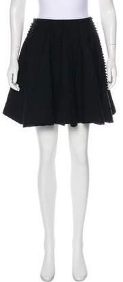 Alaia Textured Mini Skirt