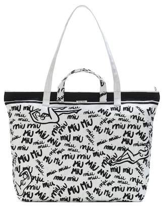 Miu Miu Printed shopper