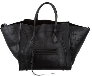 Céline Medium Phantom Tote $2,100 thestylecure.com