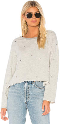 Sundry Boxy Sweatshirt With Studs