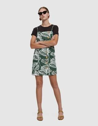 Farrow Dixon Tropical Print Mini Dress