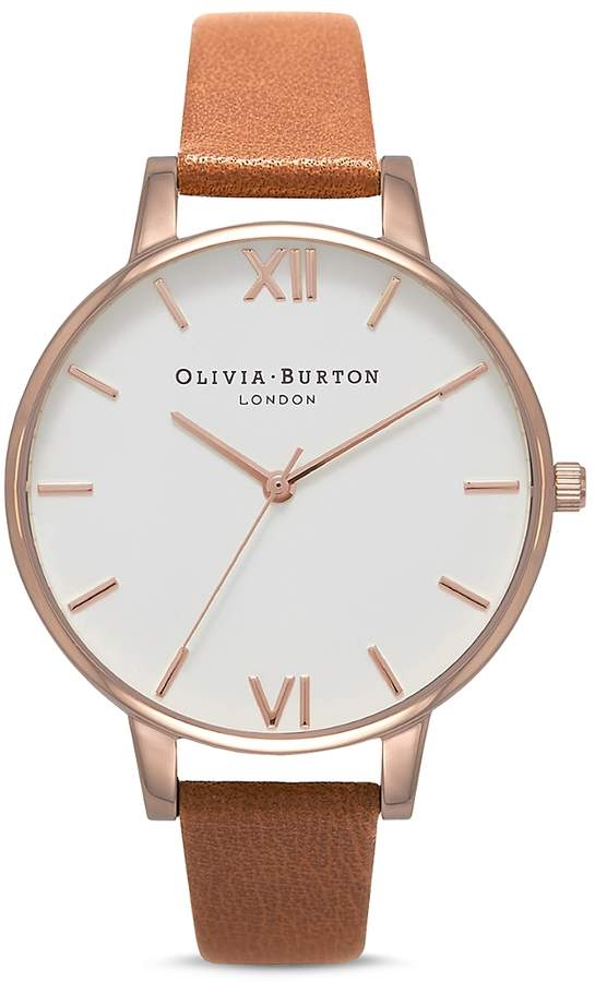 White Dial Watch, 38mm