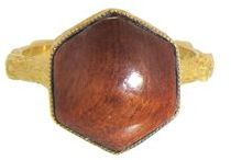 Cathy Waterman Fallen Redwood Ring - 22 Karat Gold