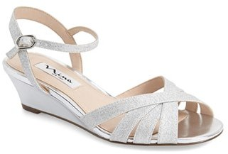 Women's Nina 'Filia' Wedge Sandal $78.95 thestylecure.com