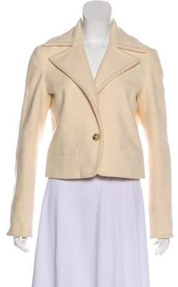 Lauren Ralph Lauren Wool Notch-Lapel Jacket