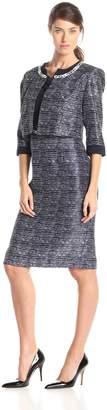 Dana Kay Women's Chain Detail Jacket and Dress