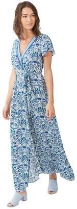 Hale Bob Siobhan Flutter Wrap Dress
