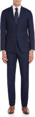 Vince Camuto Two-Piece Blue Nailhead Suit