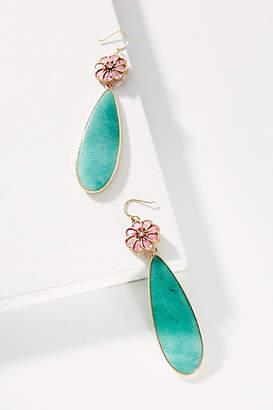 Anthropologie Petal Play Drop Earrings