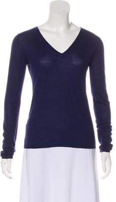 Miu Miu Knit V-Neck Sweater