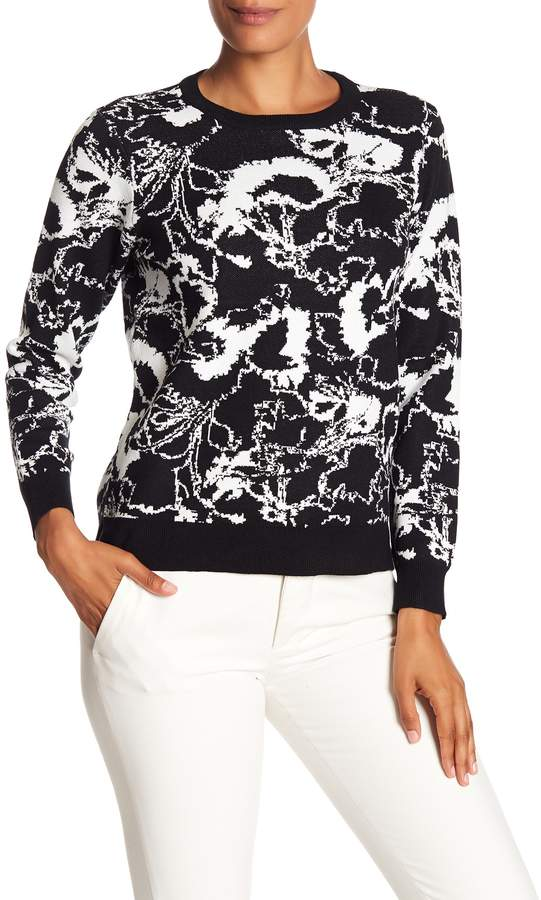 Philosophy Apparel Jacquard Abstract Sweater (Petite)