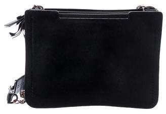 Lanvin Leather-Trimmed Ponyhair Bag