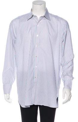 Turnbull & Asser Striped Dress Shirt