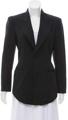 Jean Paul Gaultier Structured Peak-Lapel Blazer