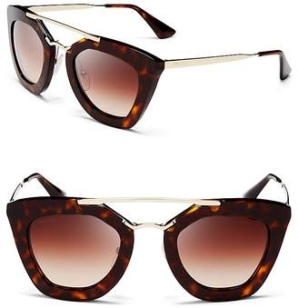 Prada Cat Eye Sunglasses, 49mm
